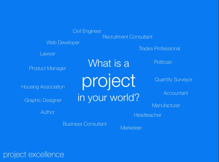 What is a project in your world?