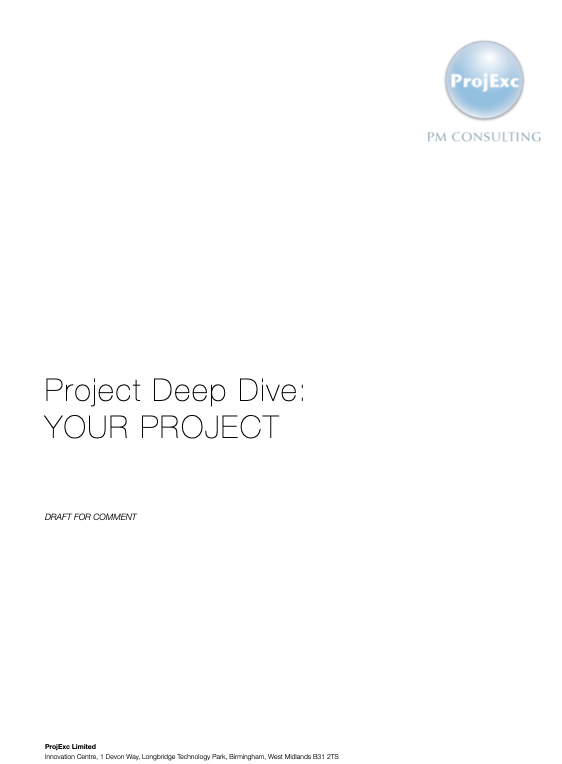 ProjExc Project Deep Dive Report